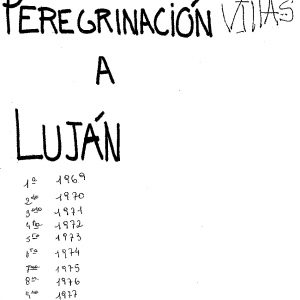 Peregrinacion a Luján