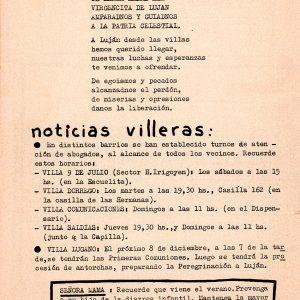 Noticias villeras